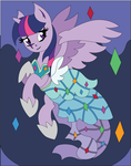 Princess Dress Twilight Shadowbox Mock-up by The-Paper-Pony