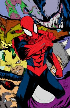 Flats Spiderman by etavitas