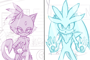 WIP: Silvaze - The first Moment I saw you by KenotheWolf
