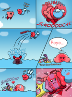 Mini-Comic PC: Kirby's Bad Day by TheScaleTrain