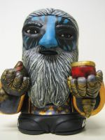 Alex Pardee as the Ice Wizard by jay222toys