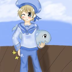 Sealand Spanked by Cherry82
