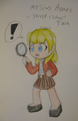 MSA - Tara 'Street Clothes' by Nijihamu-can