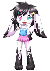 Ink the bunny by bbmbbf