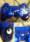 commission: hand painted luna controller by midnightfox1