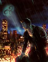 Beacon Hills Batman by VivienKa