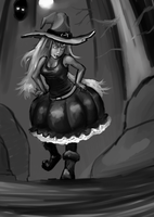 Sexy Witch by Germille