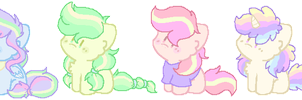 quick adopts, pony edition!~ #2 (CLOSED) by Carol2015