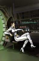 STAR WARS:  A Quiet Moment Alone by LeElf