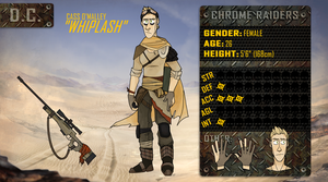 Chrome Raiders: Cass 'Whiplash' O'Malley by GoneViral