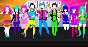 Just Dance Kisekae Exports! by the01angel