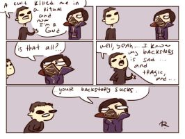 dishonored 2, doodles 24 by Ayej