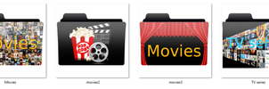 movies tv series folder logo pack v1 by mtbboyvt
