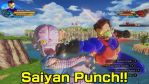 DragonBall Xenoverse screenshot: Saiyan Punch! by MarnicSteve92
