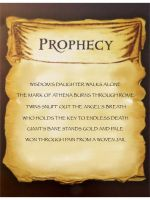 Mark of Athena Prophecy by Artemis015