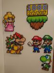 Super Mario characters by MagicPearls
