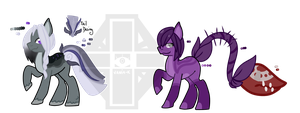 ++Pony adoptables closed+set price by Vaniaak