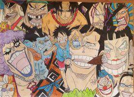 Impel down arc. - One Piece by Tory-Rug1728