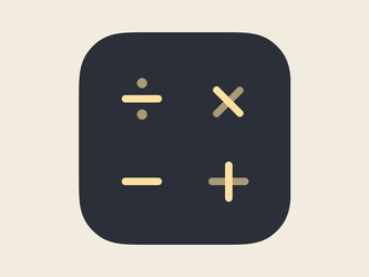 Calcly Icon by deepdesign