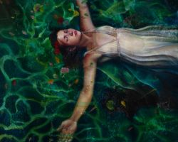 Ophelia 'Death of a Mayfly' by deerdancer
