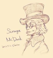 Scrooge McDuck by chacckco