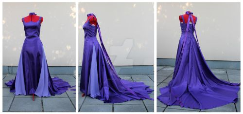 Princess Saturn dress commission by lady-narven