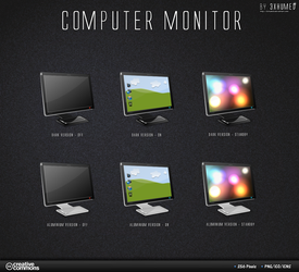 Computer Monitor - DarkVersion by 3xhumed