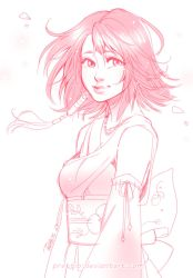 Sketch - Yuna by Prettio