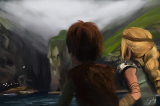 Island of the Enemy (HTTYD2 Webnovel ch14) by inhonoredglory
