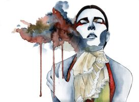 Fashion Aquarelle - bloody dust by Jibril-Cosplay