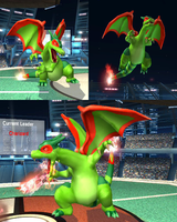 Texture Hack: Flygon Charizard by TehResearchGuy