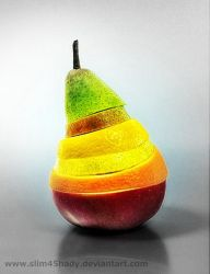 mixed fruit by Slim45hady