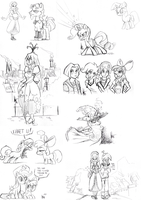 Rotterdam brony meet sketches #6 by TheArtrix