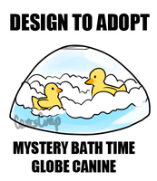 DTA: Bath Time Mystery Globe Canine (CLOSED) by CarrsCrap