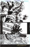 TEEN TITANS #100 Pg 1 Dynamic Opening Page SCOTT by DRHazlewood