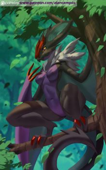Noivern by playfurry