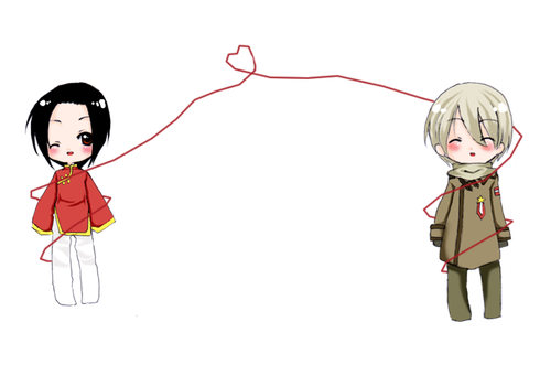 Red String of Fate by Yue-e