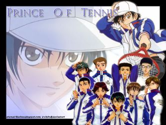 Prince of Tennis- Seigaku by d-vinity