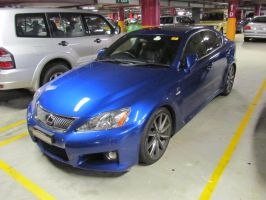 AIMS2012 - Carpark Lexus IS F by TricoloreOne77