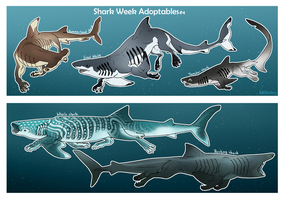 Shark Week Adoptables #4 by Mikaley