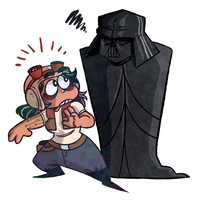 vaders got a new gf by PookaPookaa