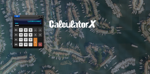 CalculatorX for Skalc by moshiAB