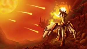 The Sun's Reign by NightPaint12
