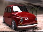fiat 600 by diegoreales
