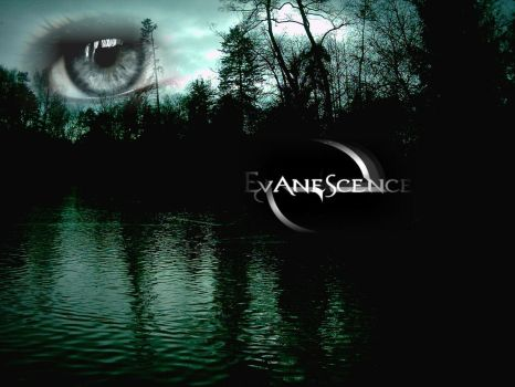 Evanescence Eye Wallpaper by GIGAgeorge