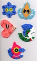 Pokemon in Perler Beads