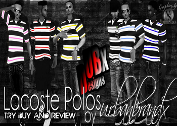 LacostePolos by UBX v2 by TreStyles