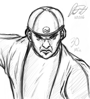 Steeler - 30 min Sketch by DeForrest