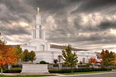 LDS Temple - Kennewick, WA by SonjaPhotography