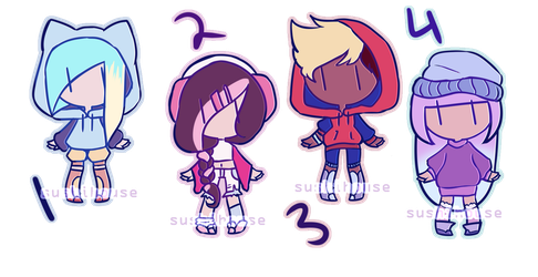 CLOSED human adopts! by sushihouse